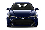 Car photography straight front view of a 2019 Toyota Corolla Touring Sports Dynamic 5 Door Wagon