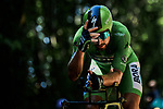 Green Jersey Peter Sagan (SVK) Bora-Hansgrohe in action during Stage 13 of the 2019 Tour de France an individual time trial running 27.2km from Pau to Pau, France. 19th July 2019.<br /> Picture: ASO/Pauline Ballet | Cyclefile<br /> All photos usage must carry mandatory copyright credit (© Cyclefile | ASO/Pauline Ballet)