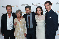 NEW YORK, NY - OCTOBER 9: Jonathan Cavendish, Diana Cavendish, Andy Serkis, Claire Fot and Andrew Garfield at the NY Special Screening of BREATHE at AMC Loews Lincoln Square 13 on October 9, 2017 in New York City. <br /> CAP/MPI99<br /> &copy;MPI99/Capital Pictures
