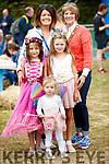 Emma Nagle, Ruby Moynihan, Alan Nagle and Zoe Nagle, Killarney, having a wonderful time at the Kilflynn Enchanted Fairy Festival on Sunday afternoon last.