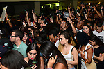 "MIAMI, FL - SEPTEMBER 28: General view of fans attending Abel Tesfaye, known by his stage name The Weeknd CD signing of ;Kiss Lane' after the ""The Fall"" 2013 concert Tour at James L Knight Center on September 28, 2013 in Miami, Florida. (Photo by Johnny Louis/jlnphotography.com)"