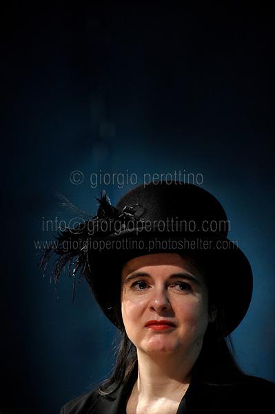   Amelie Nothomb - novelist  <br /> client: Salone del Libro di Torino - Turin Book Fair
