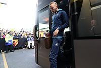 Mike van der Hoorn of Swansea City arrives at Vicarage Road Stadium prior to kick off of the Premier League match between Watford and Swansea City at Vicarage Road Stadium, Watford, England, UK. Saturday 15 April 2017