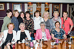 Birthday<br /> -----------<br /> Bernie Hogan ( back 4th Lt )  from Castleisland, celebrated a special birthday with many friends in the Riverisland hotel in the town last Saturday night, seated L-R Kathleen Kennedy, Maureen O'Sullivan, Betty Riordan and Delorous Lynch, back L-R Helen Griffin, Noreen O'Mahoney, Tara Howarth, Bernie Hogan, Joan Walsh, Bridget Flynn, Kathy Casey and Mary McAuliffe.
