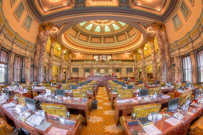 interior view photography. an interior view of the senate chamber in mississippi state capitol jackson, photography