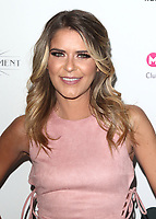 Gemma Oaten attends James Ingham's 'Jog-On to Cancer' 7th annual party raising funds for Cancer Research UK, at Proud Embankment, London on April 10th 2019<br /> CAP/ROS<br /> ©ROS/Capital Pictures