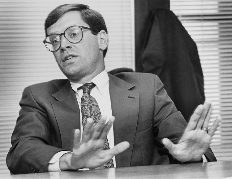 Rep. Charlie Luken, D-Ohio on July 2, 1992. (Photo by Laura Patterson/CQ Roll Call)