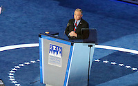 PHILADELPHIA, PA - JULY 27: Democratic vice presidential nominee, U.S. Senator Tim Kaine pictured at The 2016 Democratic National Convention day 3 at The Wells Fargo Center in Philadelphia, Pennsylvania on July 27, 2016. Credit: Star Shooter/MediaPunch