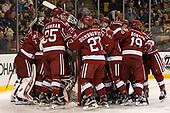 - The Harvard University Crimson defeated the Boston University Terriers 6-3 (EN) to win the 2017 Beanpot on Monday, February 13, 2017, at TD Garden in Boston, Massachusetts.