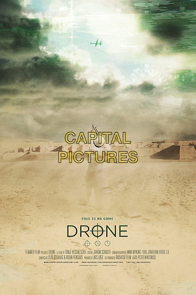 POSTER ART<br /> in Drone (2014) <br /> *Filmstill - Editorial Use Only*<br /> CAP/NFS<br /> Image supplied by Capital Pictures
