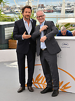 Edouard Baer &amp; Thierry Fremaux at the photocall for the Cannes Master of Ceremonies at the 71st Festival de Cannes, Cannes, France 08 May 2018<br /> Picture: Paul Smith/Featureflash/SilverHub 0208 004 5359 sales@silverhubmedia.com