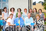 Members of Killarney Monastery primary school parents committee makes a presentation to retiring Principal Derry Pyne and retiring teacher Michael Gleeson at the school on Friday front row l-r: Eileen McCloure, Derry Pyne, Mick Gleeson, Angela Brosnan. Back row: Mernie Lenihan, Breda Griffin, Aileen Murphy, Audrey O'Leary, Lil O'Doherty, Mary Kenny and Teresa White   Copyright Kerry's Eye 2008