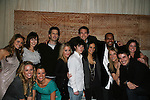 All My Children and One Life To Live's actors - front row: Natalie Hall, Melissa Claire Egan, Kristen Alderson, Eddie Alderson, Daphnee Duplaix, Marcia Tovsky, Brett Claywell and back row: Chrishell Stause, Brittany Allen, Michael Lowry, Adam Mayfield, Sean Ringgold, Brittany Underwood, Terrell Tilford at Marcia Tovsky's Holiday/Bon Voyage Party for AMC on December 1, 2009 at Nikki Midtown, New York City, New York. (Photo by Sue Coflin/Max Photos)