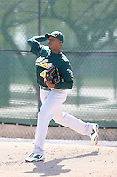 Jonathan Joseph, Oakland Athletics 2010 minor league spring training..Photo by:  Bill Mitchell/Four Seam Images.