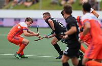Hugo Inglis. Pro League Hockey, Vantage Blacksticks v Netherlands. Harbour Hockey, Auckland, New Zealand. Sunday 27 January 2019. Photo: Simon Watts/Hockey NZ