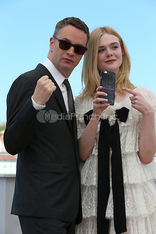 Nicolas WINDING REFN, Elle FANNING at 'The Neon Demon' photocall during the 69th Cannes International Film Festival on May 16th, 2016.<br /> CAP/GOL<br /> &copy;GOL/Capital Pictures /MediaPunch ***NORTH AND SOUTH AMERICA ONLY***