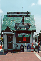 College Park:  Little Tavern Shop-- hamburger restaurant. Small stand-alone building. Photo '91.