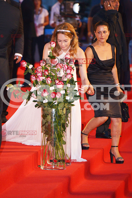August 30, 2012: Christiana Capotondi attends the &quot;Superstar&quot; Screening during the 69th Venice International Film Festival at Palazzo del Casino in Venice, Italy..Credit: &copy; F2F / MediaPunch Inc. /NortePhoto.com<br /> <br /> **CREDITO*OBLIGATORIO** <br /> *No*Venta*A*Terceros*<br /> *No*Sale*So*third*<br /> *** No*Se*Permite*Hacer*Archivo**<br /> *No*Sale*So*third*