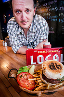 Derrick Widmark launched Diablo Burger in 2009 using all local ingredients including local, grass-fed, open range, hormone and antibiotic-free beef of Diablo Trust. He now runs two restaurants in Tucson and Flagstaff and is preparing to open a bar next door to his Tucson restuarant that specializes in Arizona beer and wine.