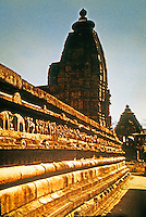 India: The Temple of Lakshmana (or Catur Bhuja). Famous for its frieze.