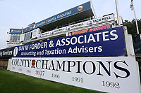 County Champions 2017 signage in front of the pavilion during Essex CCC vs Yorkshire CCC, Specsavers County Championship Division 1 Cricket at The Cloudfm County Ground on 27th September 2017