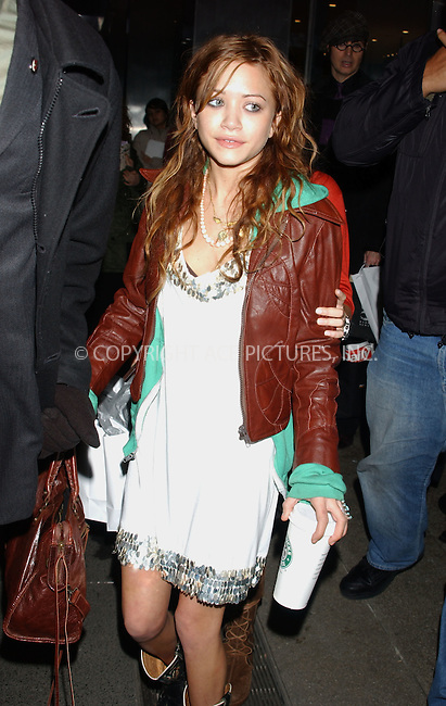 WWW.ACEPIXS.COM ** ** ** ....NEW YORK, FEBRUARY 6, 2005....Mary-Kate Olsen at the Imitation of Christ fashion show.....Please byline: KRISTIN CALLAHAN - ACE PICTURES.. *** ***  ..Ace Pictures, Inc:  ..Philip Vaughan (646) 769-0430..e-mail: info@acepixs.com..web: http://www.acepixs.com