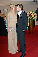 """Karolina Kurkova and husband Archie Drury attending the """"Rosenball"""" Charity Gala in favor of the """"Stiftung Deutsche Schlaganfallhilfe"""" held at the Hotel Intercontinental in Berlin, Germany, 09.06.2012..Credit: Michael Timm/face to face /MediaPunch Inc. ***FOR USA ONLY*** NORTEPHOTO.COM"""