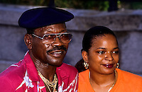 Black couple in New Orleans, Louisiana, USA