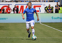 Fabian Holland (SV Darmstadt 98) - 28.04.2018: SV Darmstadt 98 vs. 1. FC Union Berlin, Stadion am Boellenfalltor, 32. Spieltag 2. Bundesliga