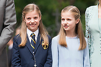 Princess Sofia and Princess Leonor