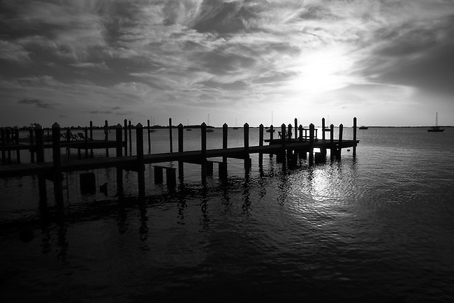 Sunset in Key Largo, Fla. July 27, 2010.