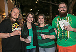 Party goers on St. Patrick's Day in Sparks on Friday, March 17, 2017.