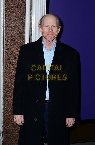 LONDON, ENGLAND - FEBRUARY 15: Ron Howard attends EE British Academy Film Awards (BAFTAs) nominees party at Asprey London, 167 New Bond Street, on February 15, 2014, in London, England.  <br /> CAP/JOR<br /> &copy;Nils Jorgensen/Capital Pictures