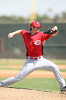 Brian Pearl, Cincinnati Reds minor league spring training..Photo by:  Bill Mitchell/Four Seam Images.
