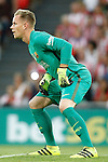 FC Barcelona's Marc-Andre Ter Stegen during La Liga match. August 28,2016. (ALTERPHOTOS/Acero)