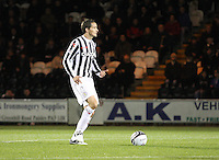 Lee Mair in the St Mirren v Hamilton Academical Scottish Communities League Cup match played at St Mirren Park, Paisley on 25.9.12.