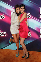 LOS ANGELES, CA - NOVEMBER 17: Daniella Monet and Victoria Justice at the TeenNick HALO Awards at The Hollywood Palladium on November 17, 2012 in Los Angeles, California. Credit mpi27/MediaPunch Inc. NortePhoto