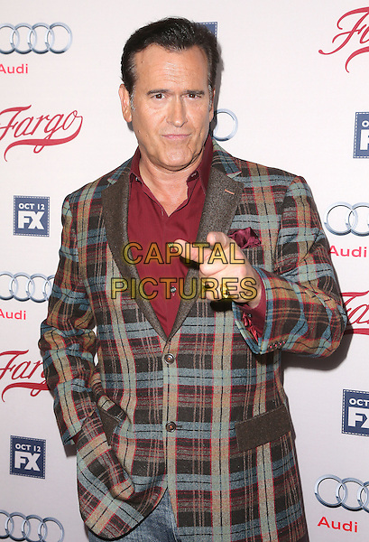 07 October 2015 - Hollywood, California - Bruce Campbell. &quot;Fargo&quot; Season 2 Premiere held at ArcLight Cinemas. <br /> CAP/ADM/FS<br /> &copy;FS/ADM/Capital Pictures