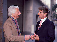 Joe Theismann & Oleg Cassini By <br />