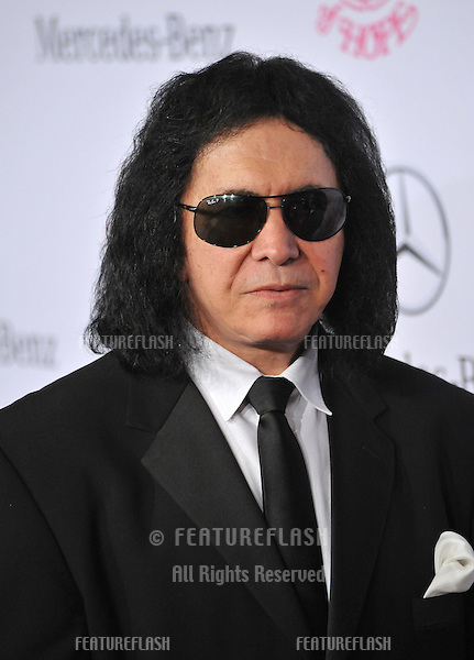KISS star Gene Simmons at the 26th Carousel of Hope Gala at the Beverly Hilton Hotel..October 20, 2012  Beverly Hills, CA.Picture: Paul Smith / Featureflash