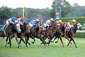 Grassy (9) wins wild photo finish in Saratoga.