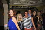 OLTL Melissa Archer and General Hospital Lindsey Morgan, Kristen Alderson and Erik Valdez and Christian LeBlanc sing at SoapFest's Celebrity Weekend - Celebrity Karaoke Bar Bash - autographs, photos, live auction raising money for kids on November 10, 2012 at Bistro Soleil at Old Historic Marco  Island, Florida. (Photo by Sue Coflin/Max Photos)
