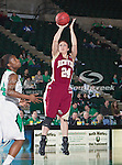 Denver Pioneer Women forward Kaetlyn Murdoch (24) in action during the game between the Denver Pioneer Women and the University of North Texas Mean Green at the North Texas Coliseum,the Super Pit, in Denton, Texas. Denver defeats UNT 50 to 44...