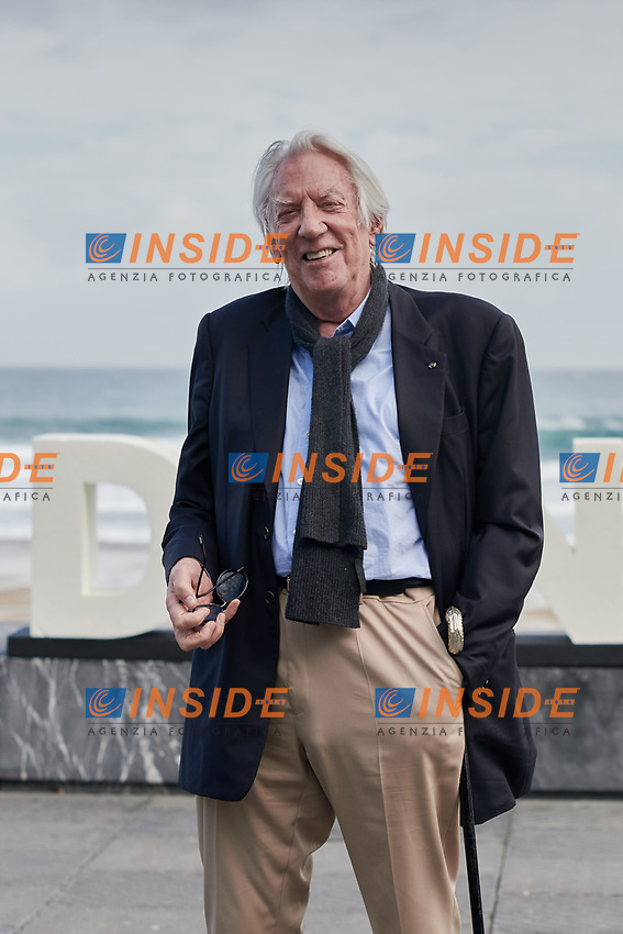 Donald Shatherland attent the Photocall of 'The Burnt orange heresy ' during the 67th San Sebastian Donostia International Film Festival - Zinemaldia.September 26,2019.(ALTERPHOTOS/Yurena Paniagua)<br /> Photo Alterphotos / Insidefoto <br /> ITALY ONLY