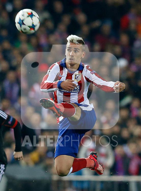 Atletico de Madrid's Antoine Griezmann during Champions League 2014/2015 match.March 16,2015. (ALTERPHOTOS/Acero)