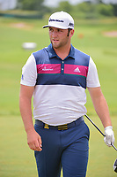 Jon Rahm (ESP) on the practice tee during the Wednesday practice day of the 117th U.S. Open, at Erin Hills, Erin, Wisconsin. 6/14/2017.<br /> Picture: Golffile | Ken Murray<br /> <br /> <br /> All photo usage must carry mandatory copyright credit (&copy; Golffile | Ken Murray)