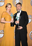 LOS ANGELES, CA. - January 23: Christoph Waltz and Diane Kruger  pose in the press room at the 16th Annual Screen Actors Guild Awards held at The Shrine Auditorium on January 23, 2010 in Los Angeles, California.