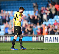 Bolton Wanderers' James Henry at the final whistle<br /> <br /> Photographer Chris Vaughan/CameraSport<br /> <br /> The EFL Sky Bet League One - Scunthorpe United v Bolton Wanderers - Saturday 8th April 2017 - Glanford Park - Scunthorpe<br /> <br /> World Copyright &copy; 2017 CameraSport. All rights reserved. 43 Linden Ave. Countesthorpe. Leicester. England. LE8 5PG - Tel: +44 (0) 116 277 4147 - admin@camerasport.com - www.camerasport.com