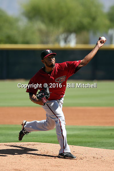 Hector Hernandez - Arizona Diamondbacks 2016 extended spring training (Bill Mitchell)