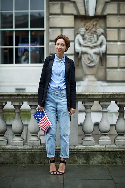 Alice Tate at London Fashion Week